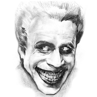 pencil time: the man who laughs