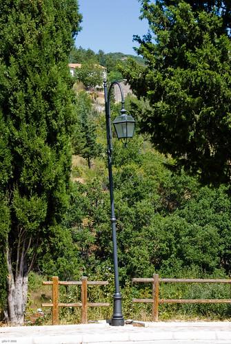 Lampione in Secinaro (AQ)