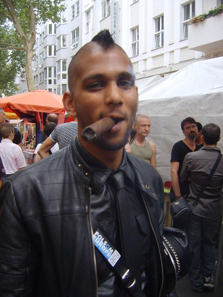 Boy fetish smoking