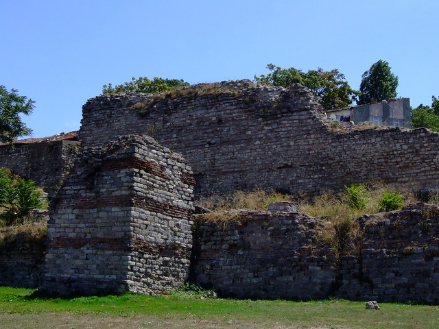 Walls of Byzantium today