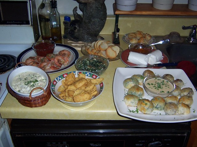 New year 39 s eve hors d 39 oeuvres flickr photo sharing for New year s eve hors d oeuvres recipes