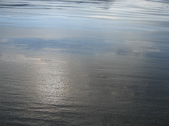 Monreith beach reflections 2