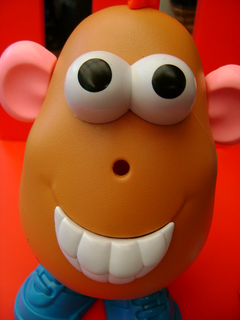 mr potato no nose | Flickr - Photo Sharing! Potato Head Nose