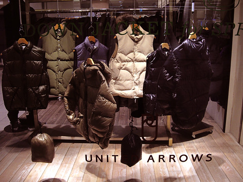 midnight show window / united arrows