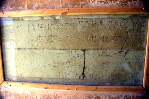 Hieratic Graffiti at Saqqara