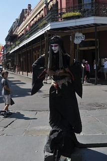 Street performer, NOLA