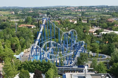 Blue Tornado, Gardaland