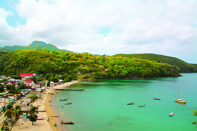 Village of Anse La Raye - St. Lucia
