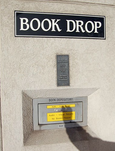 Book Drop sign