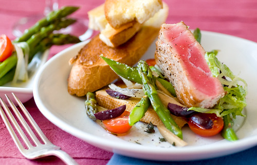 Asparagus and Tuna