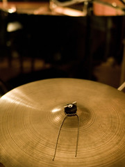 drums(0.0), drum(0.0), circle(0.0), skin-head percussion instrument(0.0), percussion(1.0), close-up(1.0), cymbal(1.0),