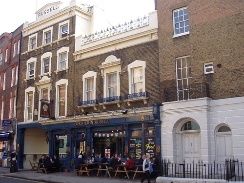 Lord John Russell, Bloomsbury, WC1
