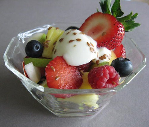 Fruit and Yogurt Lunch Salad