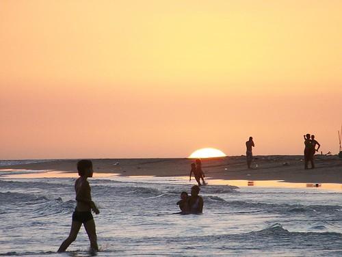 sunset beach yellow island venezuela playa punta margarita arenas mosquera z612 kodaz