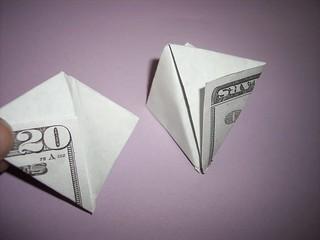 Reference dollar bill flower 1