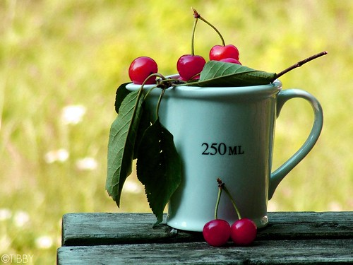 250 ML... of cherries :)