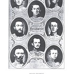 Joshua John Casey and other men of the 2nd North Carolina Regiment, Confederate States of America.  (B. Dec. 14, 1835 D. Oct. 20, 1902)