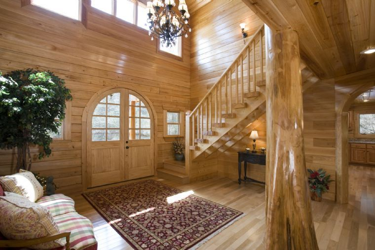 Interior home design classic wooden modern interior home for Modern classic house interior
