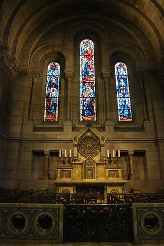 Interior de la Basílica del Sagrado Corazón Sacré Coeur, el balcón más bello de París - 2669322492 cf1267deba - Sacré Coeur, el balcón más bello de París