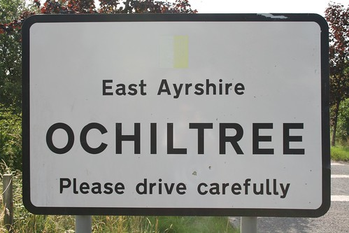 Ochiltree Sign