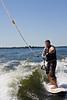 Derek Wakesurfing by Derek Purdy