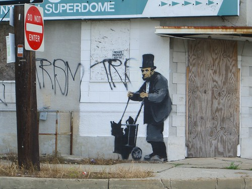 banksy in new orleans