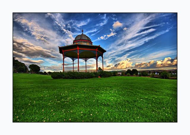 Magdalen Green Bandstand - Dundee