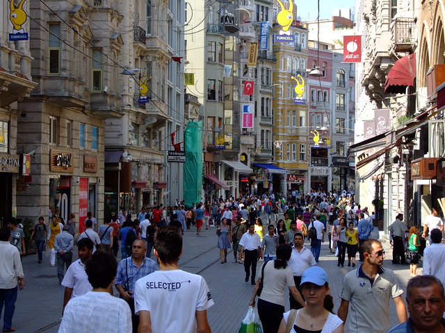 Istiklal Caddesi by flickr user access