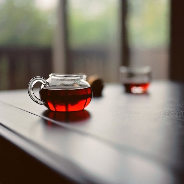 Tea in Red