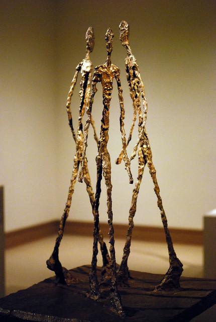 NYC - Metropolitan Museum of Art - Alberto Giacometti - Three Men Walking