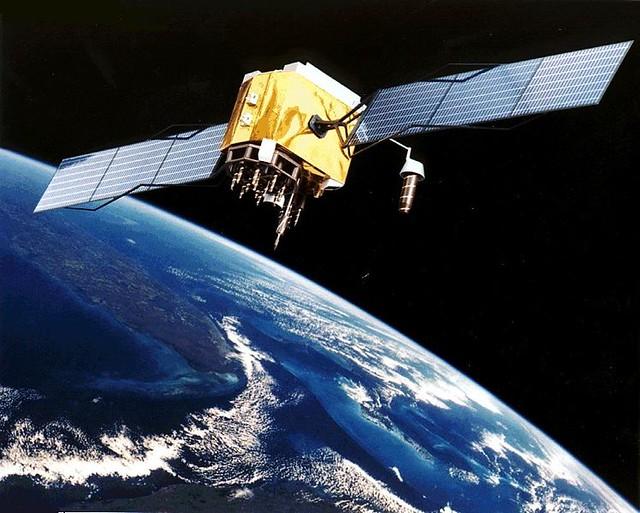 GPS Tracking Satellite