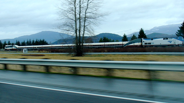 Racing Amtrak Cascades