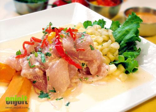 Peruvian food: Ceviche de pescado | Flickr - Photo Sharing!