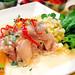 Peruvian food: Ceviche de pescado