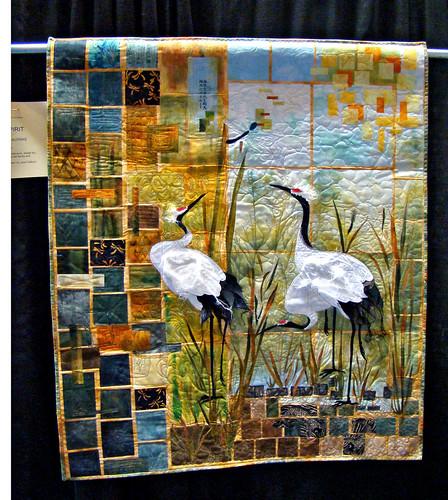 DSC02780 Sandhill Cranes quilt