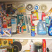 20081121 - utility room organization - 1 - 172-7242 - fire, death, cleaners, tape, and locks