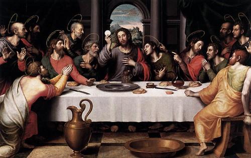 Juanes, Juan (1523-1579) - 1560s The Last Supper (Prado, Madrid)