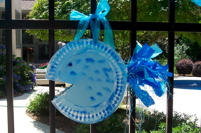 Fish party decorations flickr photo sharing for Fish party decorations