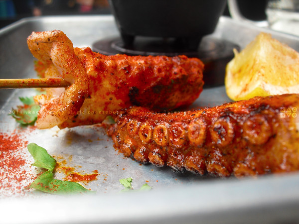 Grilled Octopus (Pinchas) | Cantina by Cascabel | Yorkville, UES, NYC