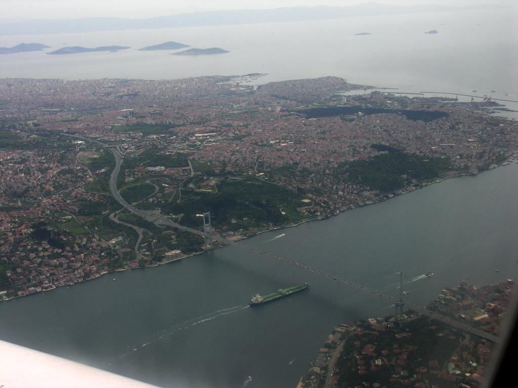 Isztambul a levegőből