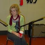 Katie Herzig in WFUV's Studio A