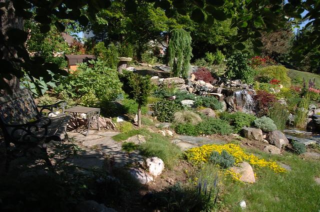 Backyard Waterfall And Rock Gardens 0300 Flickr Photo