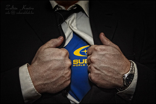 The business man's other side! /SUBARU/