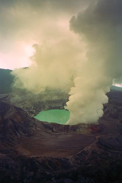 Volcán Poás, Costa Rica - 1999