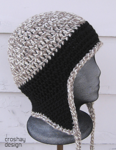 Crocheted Earflap Cap Flickr - Photo Sharing!