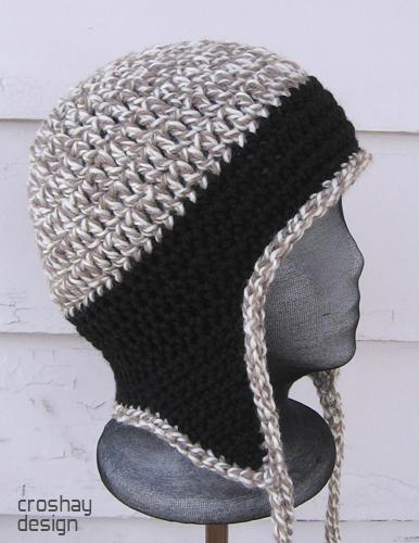 Crocheted Earflap Cap Flickr Photo Sharing
