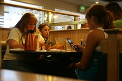 IHOP Cell Phone Meal Family
