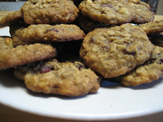 Oatmeal Cranberry and White Chocolate Chip Cookies | Flickr - Photo ...