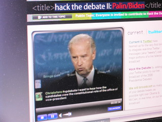 Hacking the debate