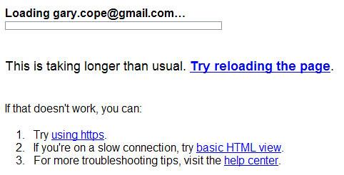 Google Login Fail